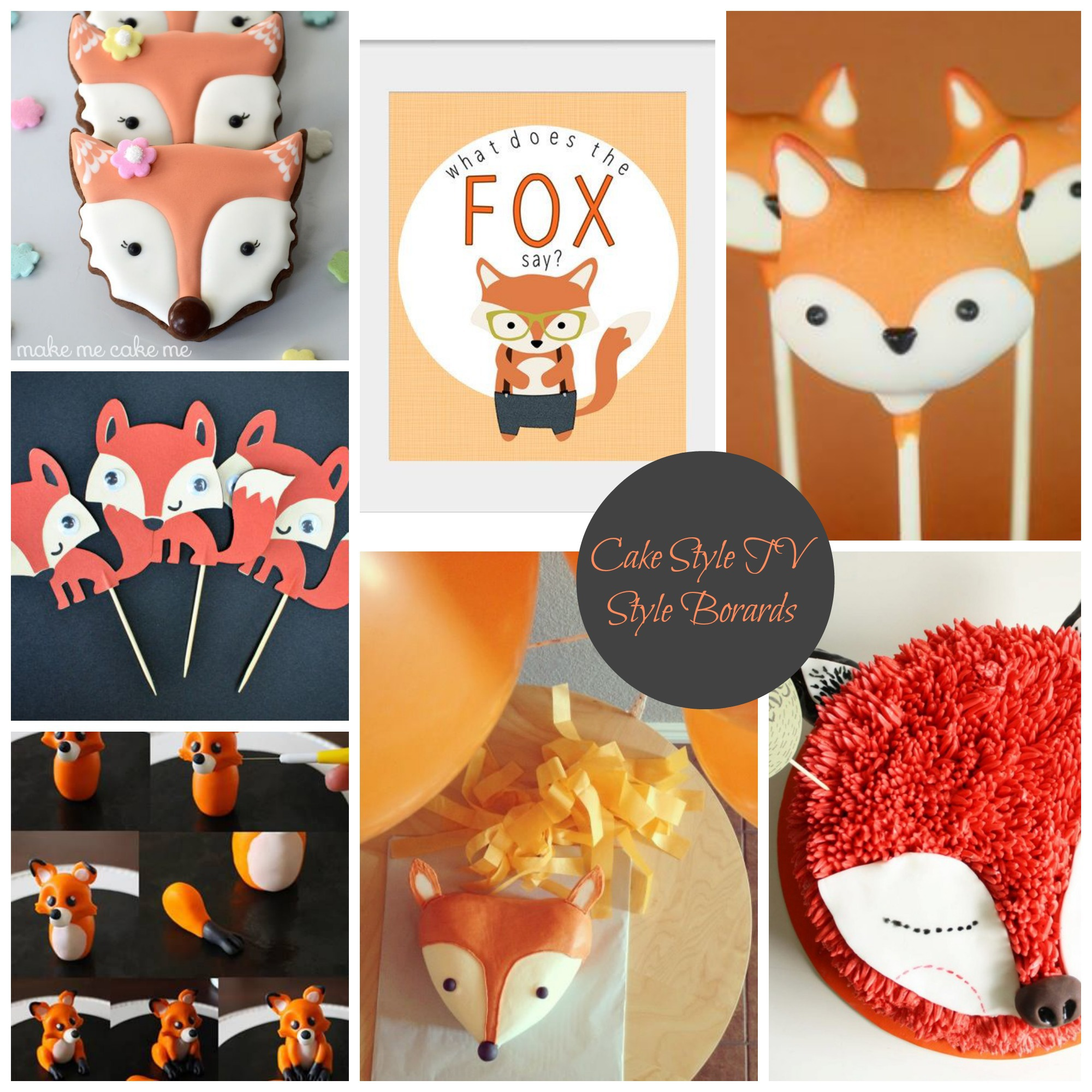 What Does the Fox Say Cake